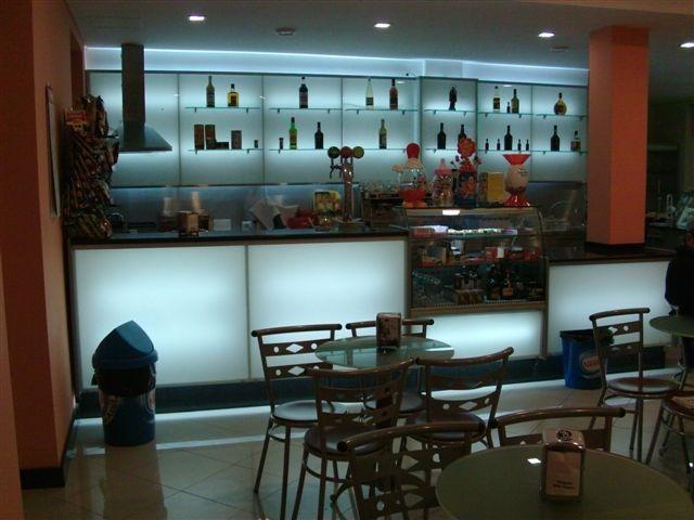 Comptoir bar réfrigéré 2 portes longueur 1m50 < Agencement ...