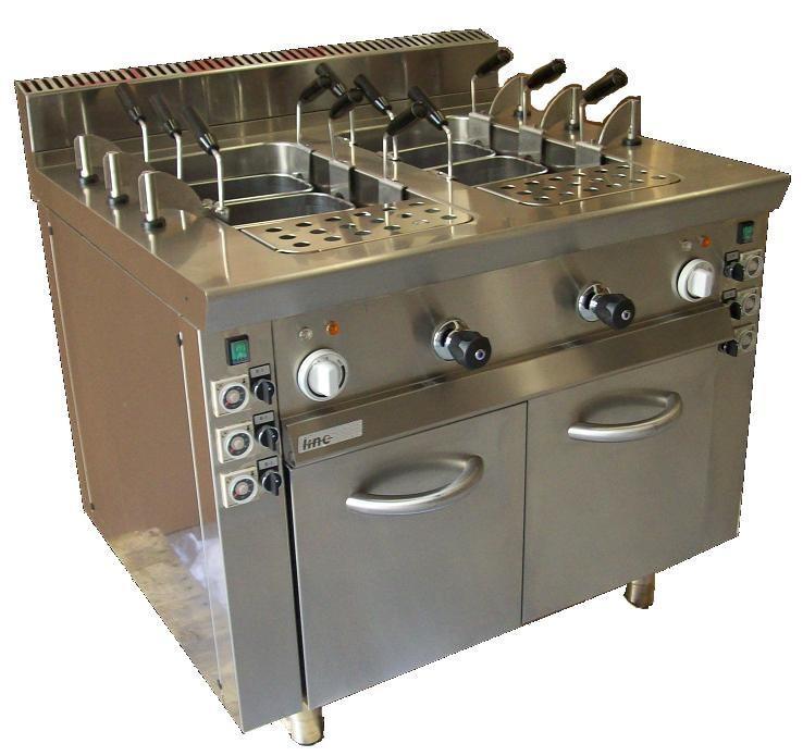 Cuiseurs p tes double relevage mod le line 124 9ccpe2 for Equipement de cuisson